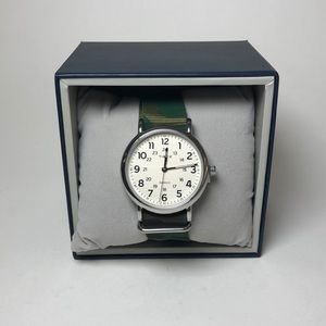 Timex Men's Green Camo Watch 40mm (J 69)